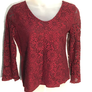 Primary Photo - BRAND: TALBOTS STYLE: TOP LONG SLEEVE COLOR: RED SIZE: L SKU: 239-23911-72336