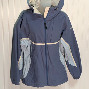 Primary Photo - BRAND: COLUMBIA STYLE: JACKET OUTDOOR COLOR: SLATE BLUE SIZE: M SKU: 239-23911-68282
