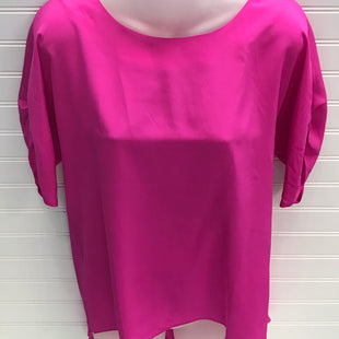 Primary Photo - BRAND:   ELLIE KAISTYLE: TOP SHORT SLEEVE COLOR: PINK SIZE: M OTHER INFO: 100% SILK SKU: 239-23918-38779