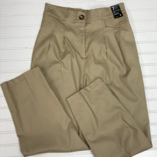 Primary Photo - BRAND: NEW YORK AND CO STYLE: PANTS COLOR: KHAKI SIZE: 8 OTHER INFO: NEW! CROP WIDE LEG, SIGNATURE FIT, COTTON, LINEN, SKU: 239-23911-73044
