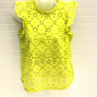 Primary Photo - BRAND: J CREW STYLE: TOP SHORT SLEEVE COLOR: LIME GREEN SIZE: XS SKU: 239-23918-38646