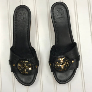Primary Photo - BRAND: TORY BURCH STYLE: SANDALS LOW COLOR: BLACK SIZE: 11 SKU: 239-23918-38739