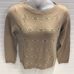 Primary Photo - BRAND: TALBOTS STYLE: SWEATER LIGHTWEIGHT COLOR: TAN SIZE: L OTHER INFO: WOOL CASHMERE SKU: 239-23918-39113