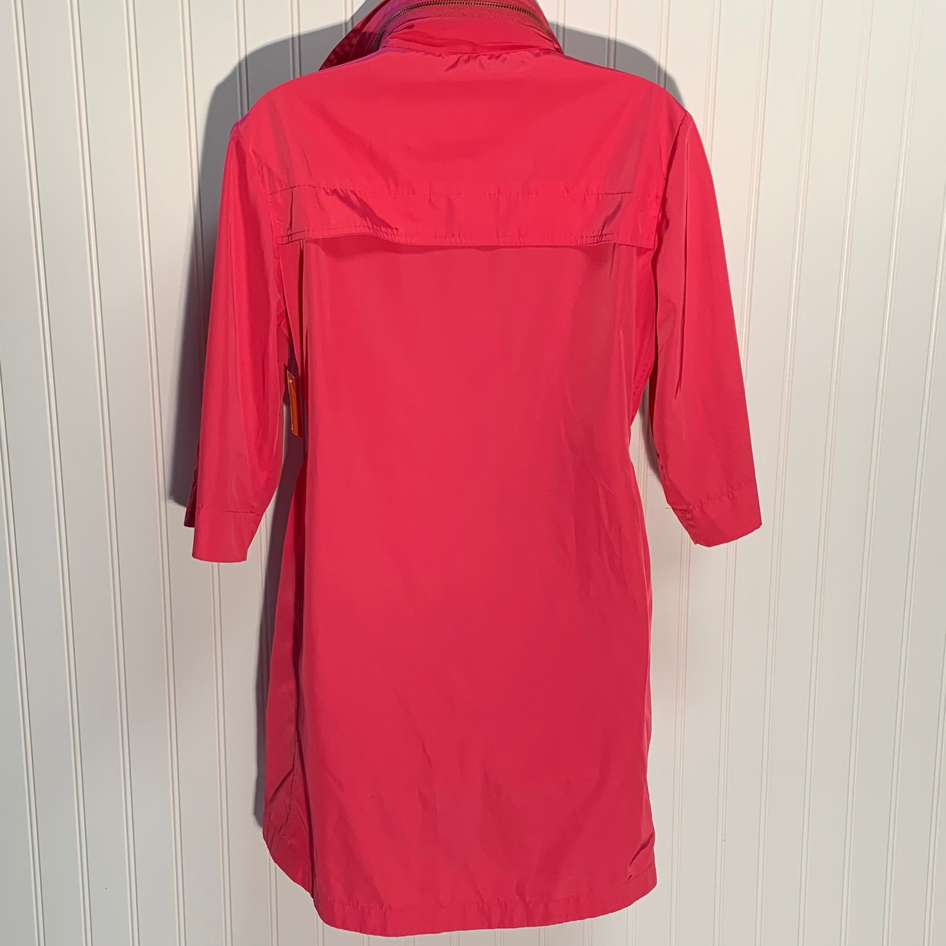 Photo #1 - BRAND:   ALI RA <BR>STYLE: JACKET OUTDOOR <BR>COLOR: PINK <BR>SIZE: 2 <BR>OTHER INFO: - RAIN JACKET <BR>SKU: 239-23918-37416