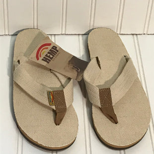 Primary Photo - BRAND: RAINBOWSTYLE: FLIP FLOPS COLOR: OFF WHITE SIZE: 7 OTHER INFO: SIZE 6.5-7.5 SKU: 239-23911-72348