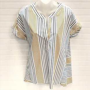 Primary Photo - BRAND: LYSSE STYLE: TOP SHORT SLEEVE COLOR: STRIPED SIZE: S SKU: 239-23911-73239BUTTONS UP ON SIDES