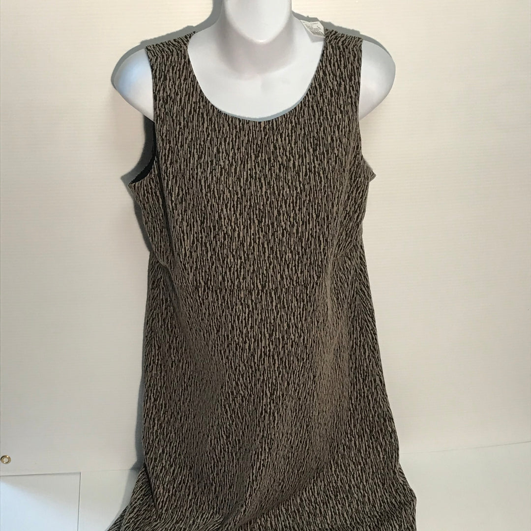Primary Photo - BRAND: MOTHERHOOD<BR>STYLE: MATERNITY DRESS SHORT SLEEVELESS<BR>COLOR: TAUPE<BR>SIZE: L<BR>SKU: 239-23918-32886