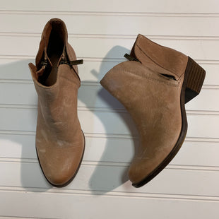 Primary Photo - BRAND: LUCKY BRAND STYLE: BOOTS ANKLE COLOR: CAMEL SIZE: 6.5 OTHER INFO: DISTRESSED SKU: 239-23911-70984