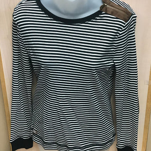 Primary Photo - BRAND: LAUREN BY RALPH LAUREN STYLE: TOP LONG SLEEVE COLOR: STRIPED SIZE: M OTHER INFO: NEW! SKU: 239-23918-35185