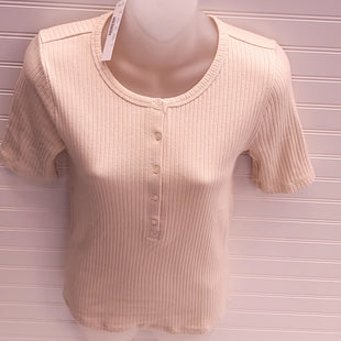 Primary Photo - BRAND: J CREW STYLE: TOP SHORT SLEEVE COLOR: BEIGE SIZE: S OTHER INFO: NEW! SKU: 239-23911-74030