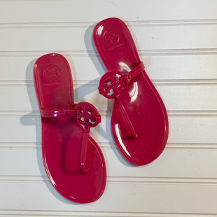 Primary Photo - BRAND: TORY BURCH STYLE: SANDALS FLAT COLOR: PINK SIZE: 6 SKU: 239-23911-71672