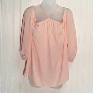 Primary Photo - BRAND:  1 STATESTYLE: TOP SHORT SLEEVE COLOR: LIGHT PINK SIZE: M OTHER INFO:- NEW! SKU: 239-23911-72525