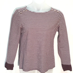 Primary Photo - BRAND: TALBOTS STYLE: TOP LONG SLEEVE COLOR: BURGUNDY SIZE: L SKU: 239-23911-66303