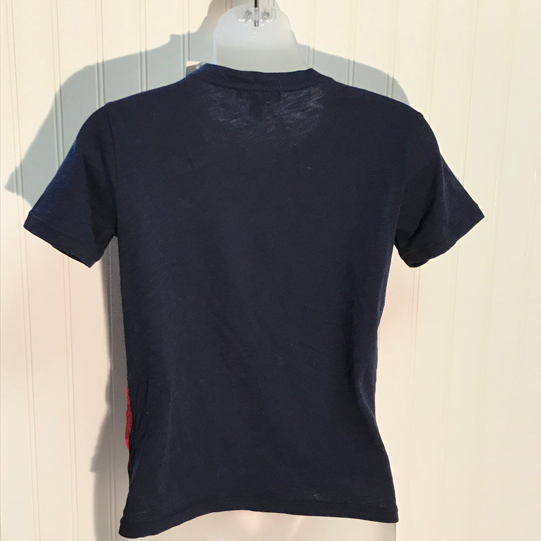 Photo #1 - BRAND: J CREW <BR>STYLE: TOP SHORT SLEEVE <BR>COLOR: BLUE RED <BR>SIZE: XS <BR>OTHER INFO: NEW! <BR>SKU: 239-23918-37058