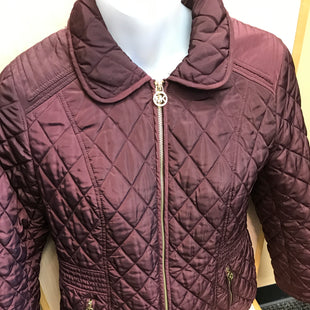 Primary Photo - BRAND: MICHAEL BY MICHAEL KORS STYLE: COAT SHORT COLOR: MAROON SIZE: L SKU: 239-23911-72052