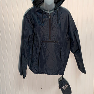 Primary Photo - BRAND: GAP STYLE: JACKET OUTDOOR COLOR: NAVY SIZE: M OTHER INFO: ANORAK, HAS POUCH FOR TRAVEL SKU: 239-23911-67445