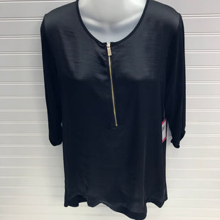 Primary Photo - BRAND: VINCE CAMUTO STYLE: TUNIC LONG SLEEVE COLOR: BLACK SIZE: M SKU: 239-23911-73102