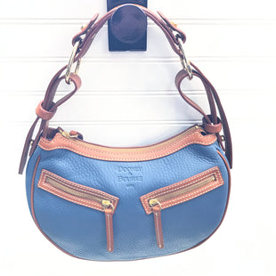 Primary Photo - BRAND: DOONEY AND BOURKE STYLE: HANDBAG DESIGNER COLOR: SLATE BLUE SIZE: SMALL SKU: 239-23918-39166NEW WITHOUT TAGS, HAS PACKAGING ON KEY FOB AND DUST BAG