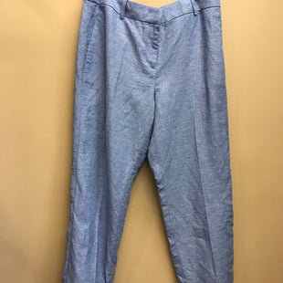 Primary Photo - BRAND: ANN TAYLOR STYLE: PANTS COLOR: BLUE SIZE: 10 OTHER INFO: NEW! LINEN SKU: 239-23911-73567