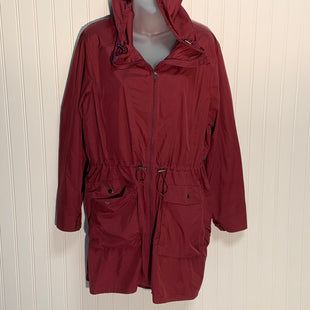 Primary Photo - BRAND: J JILL STYLE: JACKET OUTDOOR COLOR: BURGUNDY SIZE: M OTHER INFO: PACKABLE ANORAK SKU: 239-23918-36267