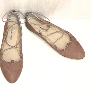 Primary Photo - BRAND: LUCKY BRAND STYLE: SHOES FLATS COLOR: CAMEL SIZE: 8 SKU: 239-23911-69218
