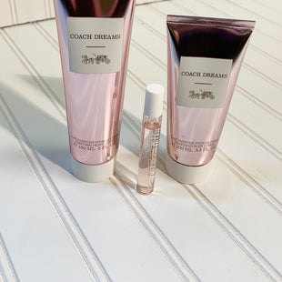 Primary Photo - BRAND: COACH STYLE: FRAGRANCE SIZE: 03 PIECE SET OTHER INFO: COACH DREAMS 5 OZ LOTION, 3.3 LOTION, & .25 SPRAY SKU: 239-23911-72432