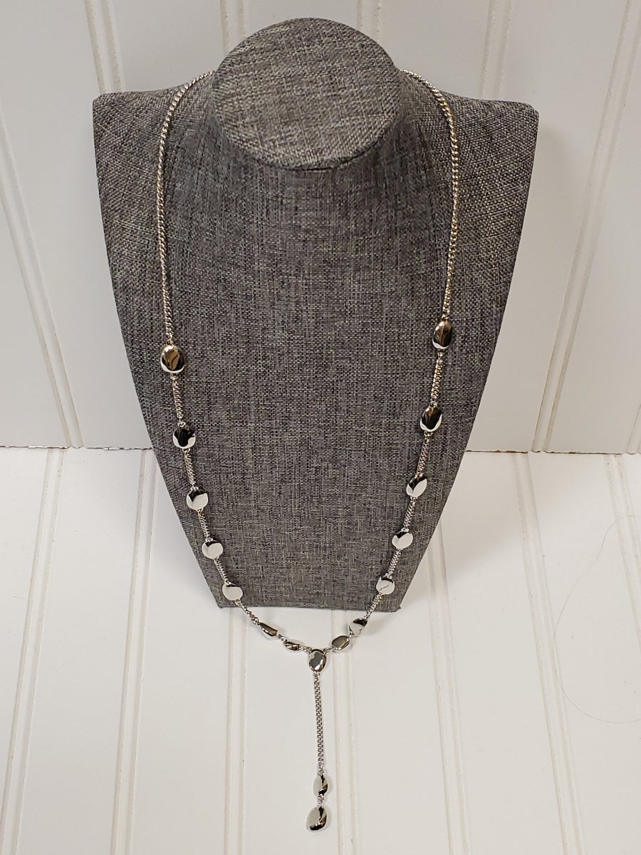 Primary Photo - BRAND: ANN TAYLOR <BR>STYLE: NECKLACE <BR>COLOR: SILVER <BR>SKU: 239-23911-67379