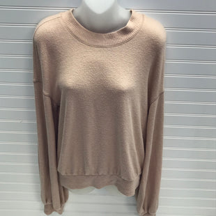 Primary Photo - BRAND: FREE PEOPLE STYLE: TOP LONG SLEEVE COLOR: NUDE SIZE: S SKU: 239-23911-72964
