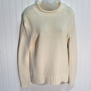 Primary Photo - BRAND: J CREW STYLE: SWEATER HEAVYWEIGHT COLOR: CREAM SIZE: M SKU: 239-23918-35211