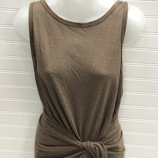 Primary Photo - BRAND: BCBG STYLE: TOP SLEEVELESS COLOR: BROWN SIZE: M SKU: 239-23918-38378 LINEN AND RAYON