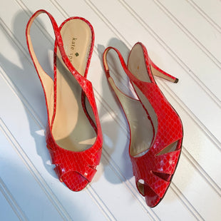 Primary Photo - BRAND: KATE SPADE STYLE: SANDALS HIGH COLOR: RED SIZE: 10 SKU: 239-23918-37884