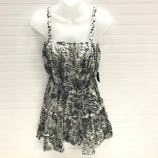 Primary Photo - BRAND: EXPRESS STYLE: DRESS SHORT SLEEVELESS COLOR: GREY WHITE SIZE: S OTHER INFO: NEW! SKU: 239-23911-74057