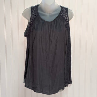Primary Photo - BRAND: LOFT STYLE: TOP SLEEVELESS COLOR: CHARCOAL SIZE: S OTHER INFO: NEW! SKU: 239-23918-37816