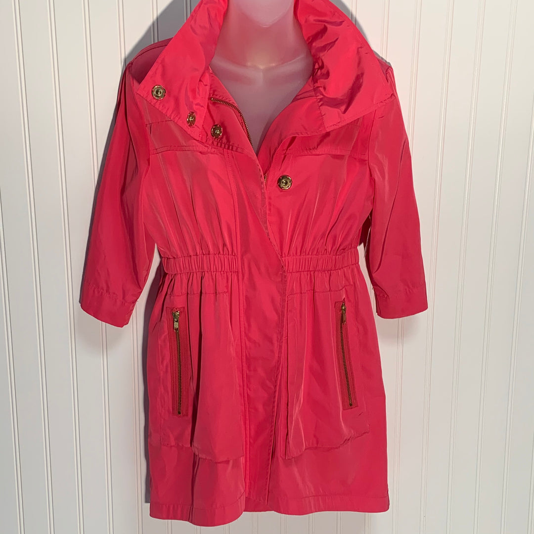 Primary Photo - BRAND:   ALI RA <BR>STYLE: JACKET OUTDOOR <BR>COLOR: PINK <BR>SIZE: 2 <BR>OTHER INFO: - RAIN JACKET <BR>SKU: 239-23918-37416