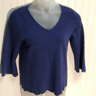 Primary Photo - BRAND: TALBOTS STYLE: TOP LONG SLEEVE COLOR: BLUE SIZE: L SKU: 239-23911-72346