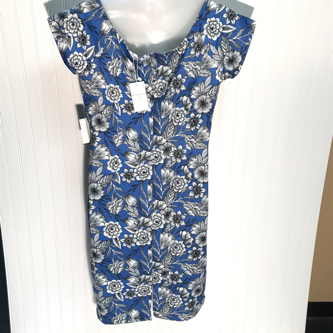 Photo #1 - BRAND:   ALEXIA ADMOR<BR>STYLE: DRESS SHORT SHORT SLEEVE <BR>COLOR: FLOWERED <BR>SIZE: XL <BR>SKU: 239-23918-36779