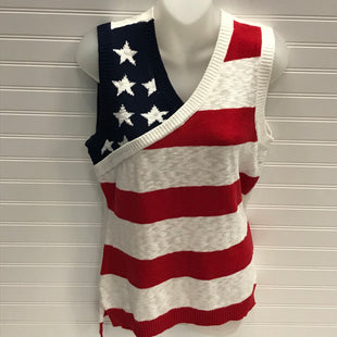 Primary Photo - BRAND: NEW YORK AND CO STYLE: TOP SLEEVELESS COLOR: FLAG SIZE: M SKU: 239-23911-73073