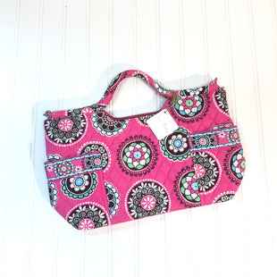 Primary Photo - BRAND: VERA BRADLEY CLASSIC STYLE: HANDBAG COLOR: PINKGREEN SIZE: MEDIUM SKU: 239-23918-33788