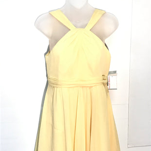 Primary Photo - BRAND:   DAVID'S BRIDALSTYLE: DRESS SHORT SLEEVELESS COLOR: YELLOW SIZE: 8 SKU: 239-23918-24412