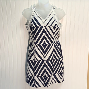 Primary Photo - BRAND: TAYLOR STYLE: DRESS SHORT SLEEVELESS COLOR: BLUE WHITE SIZE: 14 OTHER INFO: NEW! SKU: 239-23911-71063