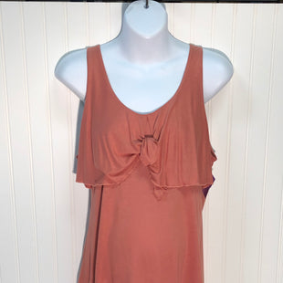 Primary Photo - BRAND: LOFT STYLE: MATERNITY TOP SLEEVELESS COLOR: CORAL SIZE: L SKU: 239-23918-34192