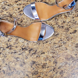 Primary Photo - BRAND: J CREW O STYLE: SANDALS HIGH COLOR: SILVER SIZE: 6.5 SKU: 239-23911-68010