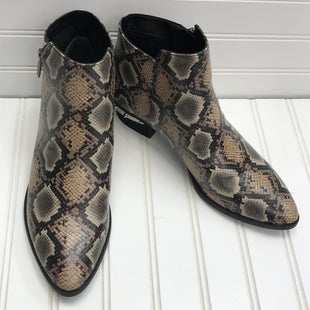 Primary Photo - BRAND: CIRCUS BY SAM EDELMAN STYLE: BOOTS ANKLE COLOR: SNAKESKIN PRINT SIZE: 9.5 OTHER INFO: NEW! SKU: 239-23918-38723