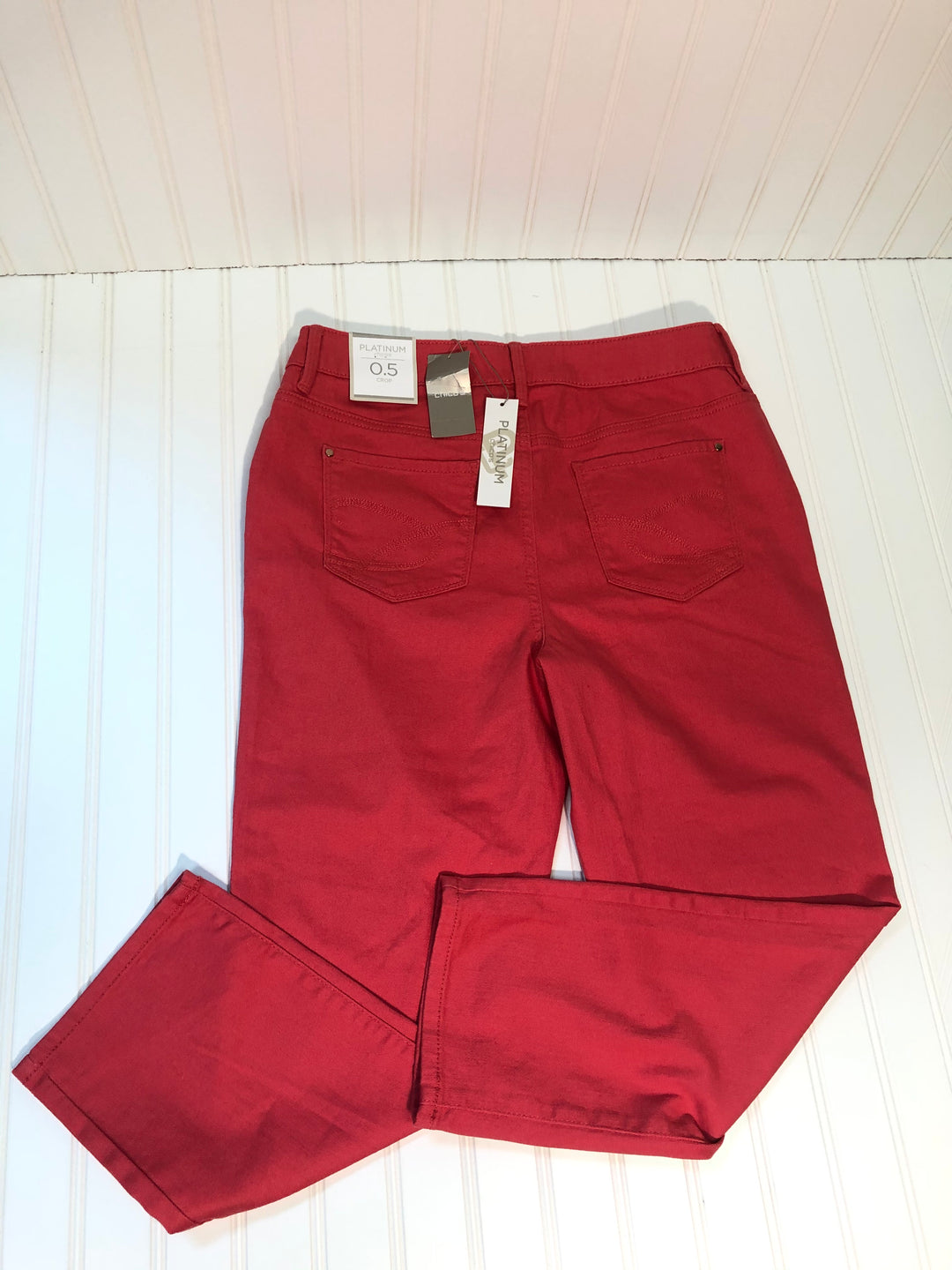 Photo #1 - BRAND: CHICOS <BR>STYLE: PANTS <BR>COLOR: CORAL<BR>SIZE: S <BR>SKU: 239-23918-33947<BR>CROP SIZE 0.5