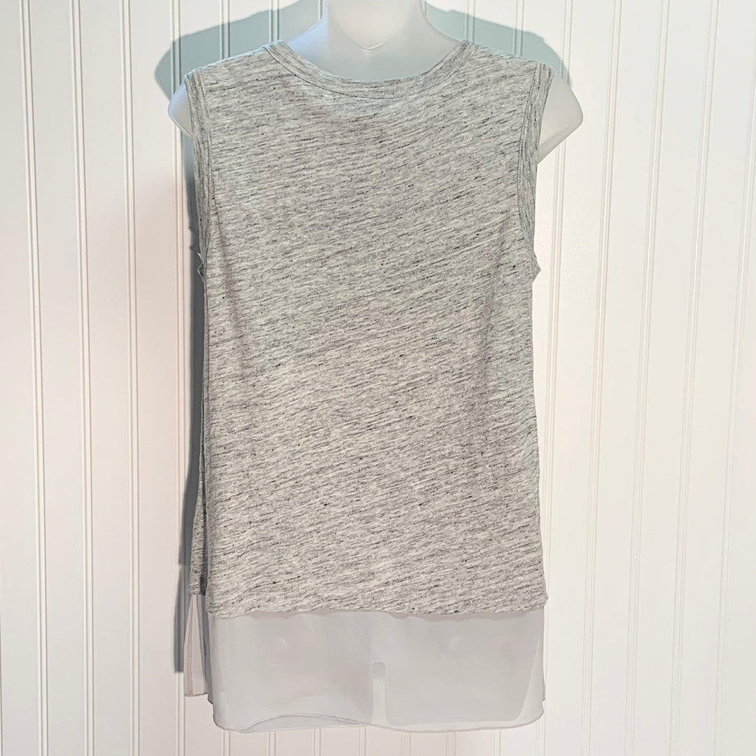Photo #1 - BRAND: BANANA REPUBLIC <BR>STYLE: TOP SLEEVELESS <BR>COLOR: GREY <BR>SIZE: XS <BR>SKU: 239-23911-72030
