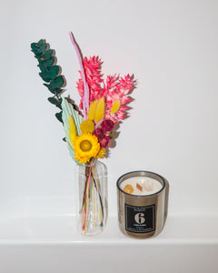 Moms Gone Wild Mother's Day Bouquet + Candle Set
