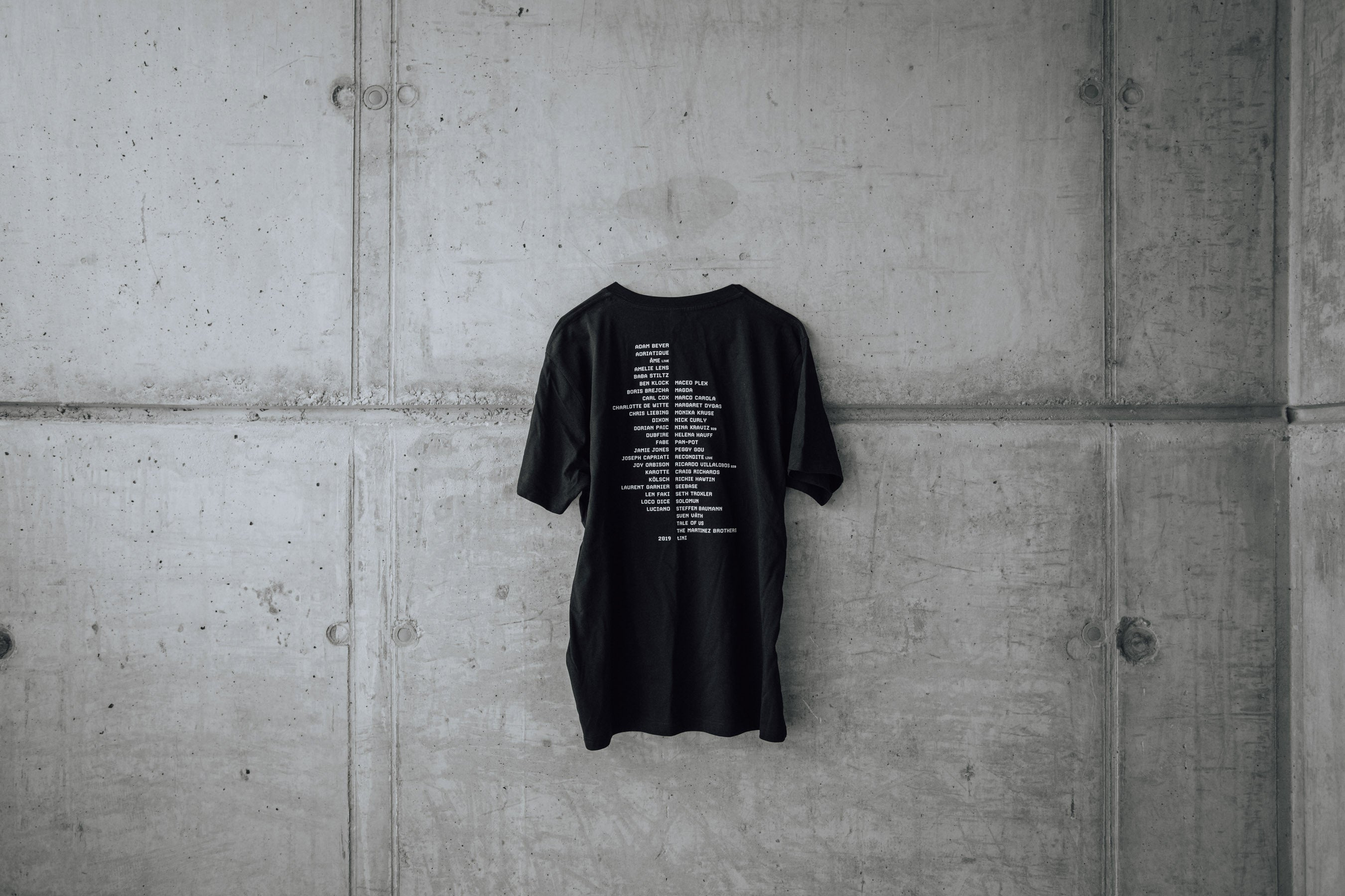 Time Warp Line-up T-Shirt 2019