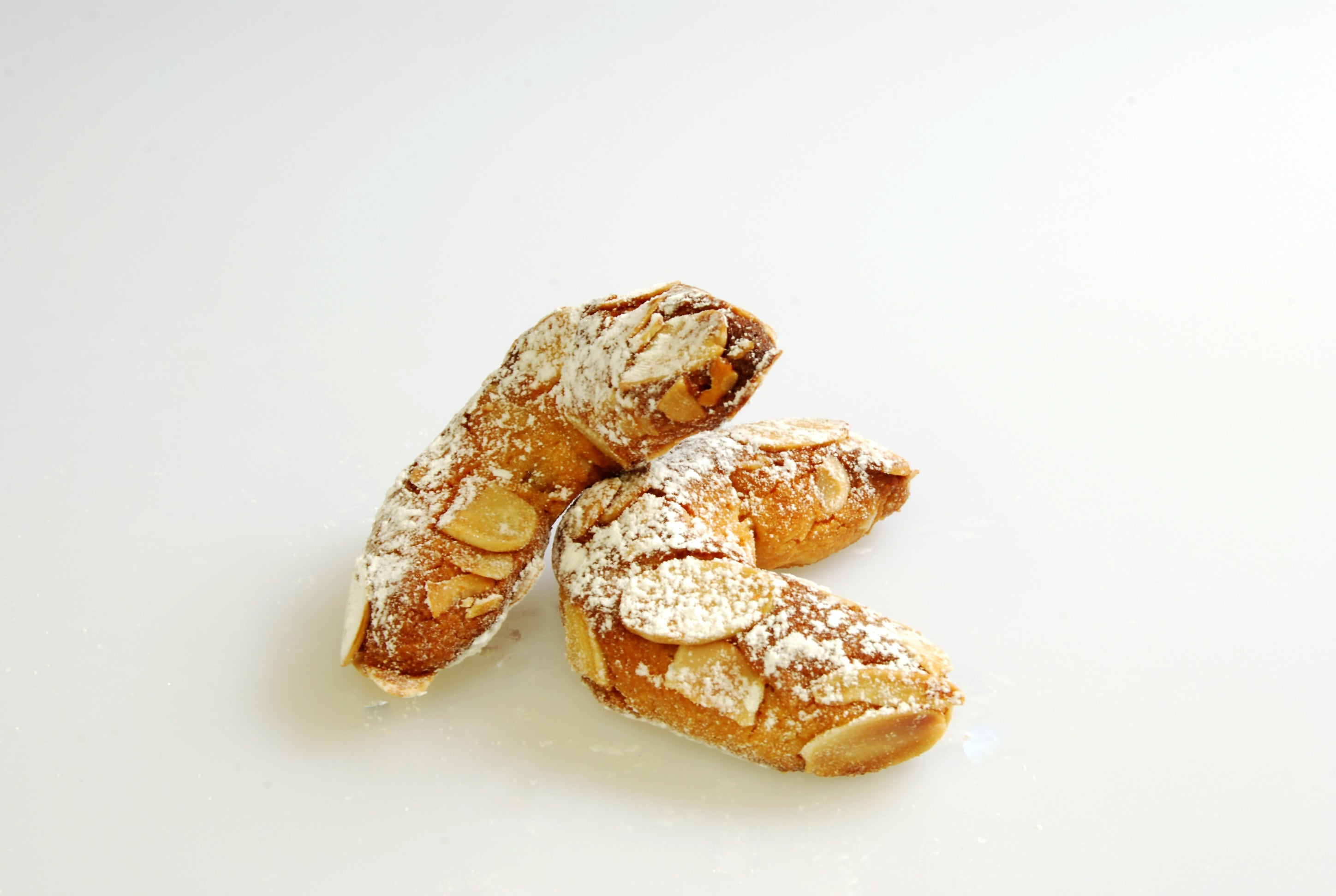Amaretti, Crescent with Almonds