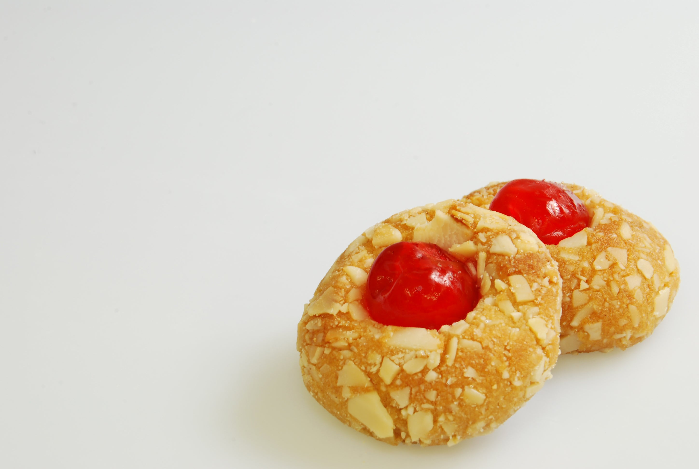 Amaretti, Red Cherry with Almonds