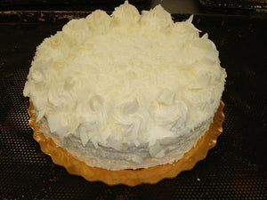White Chocolate Mousse Torte